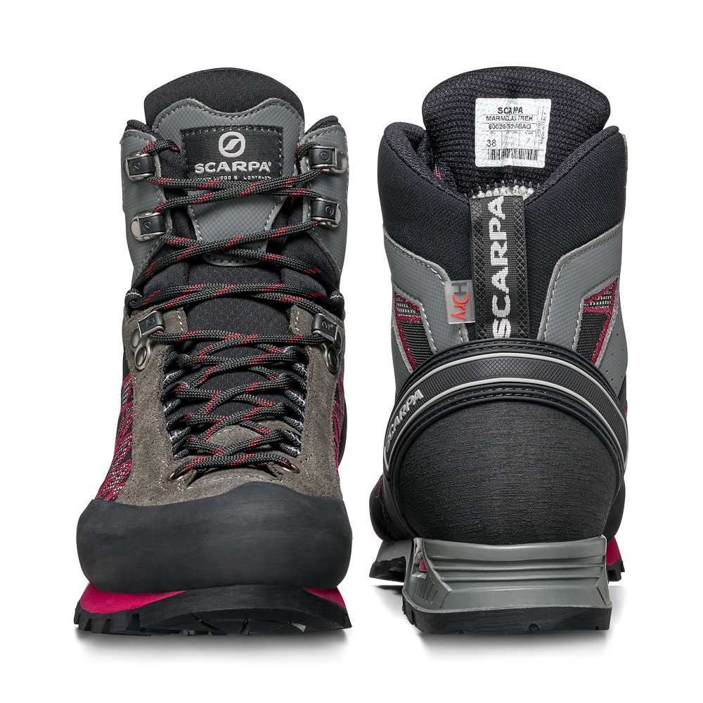 MARMOLADA TREK HD WOMAN   -   Backpacking boots   -   Shark-Cherry / Last Medium