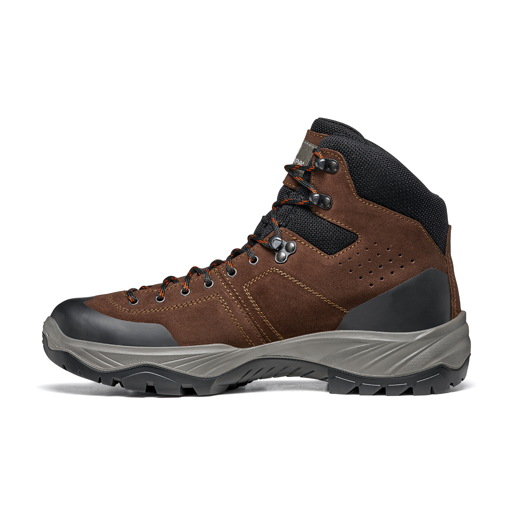 BOREAS GTX   -   Trails and forest excursions, waterproof   -   Brown
