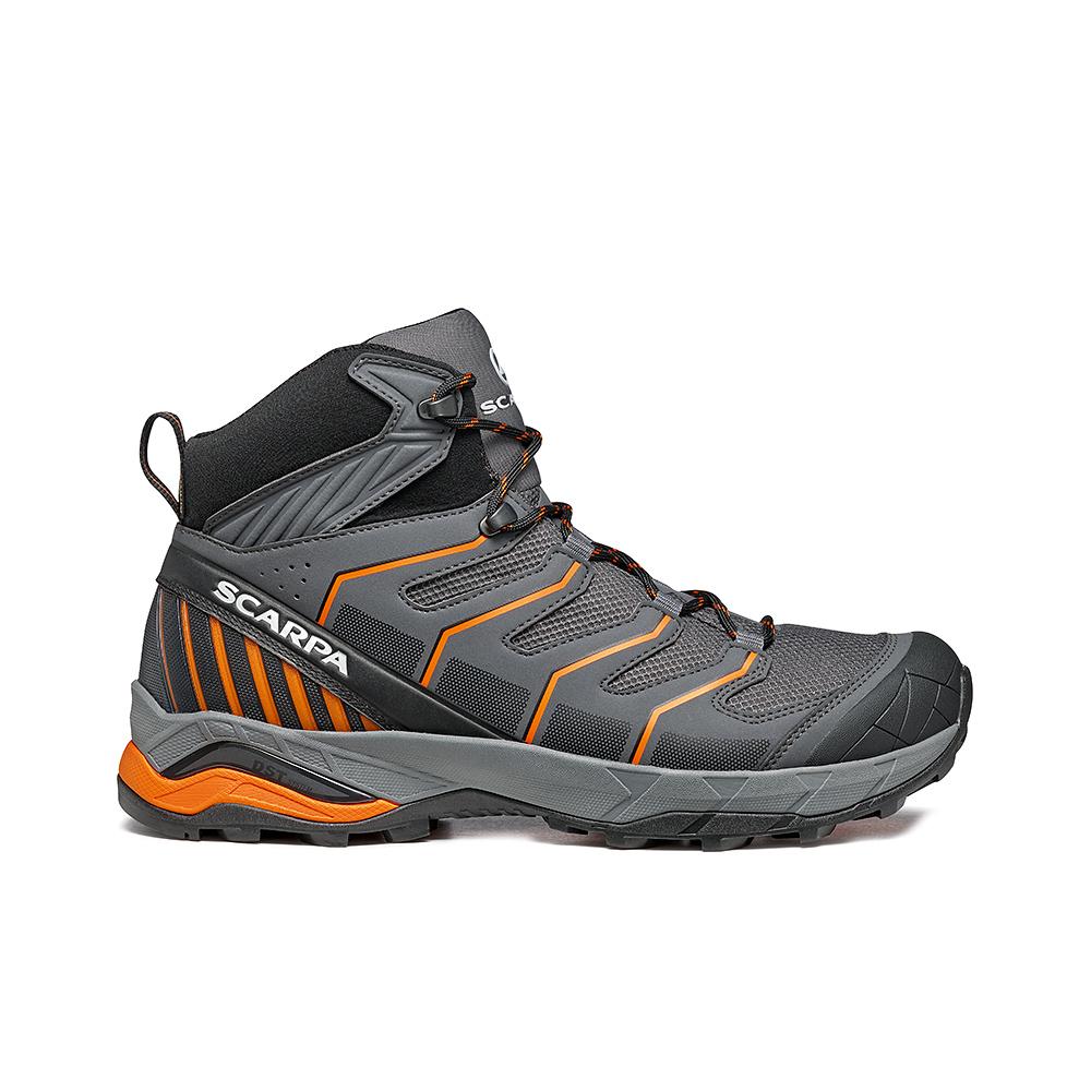 MAVERICK MID GTX   -   Fast hikes on mixed terrains, waterproof, lighweight   -  Iron Gray-Orange