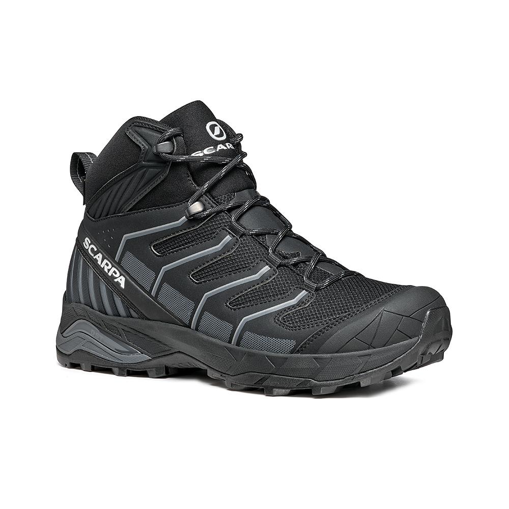 MAVERICK MID GTX   -   Fast hikes on mixed terrains, waterproof, lighweight   -  Black-Gray