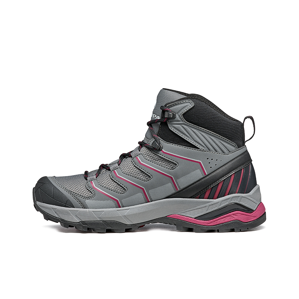 MAVERICK MID GTX  WOMAN  -   Hiking veloce su terreni misti, Impermeabile e leggera   -  Gray-Plum