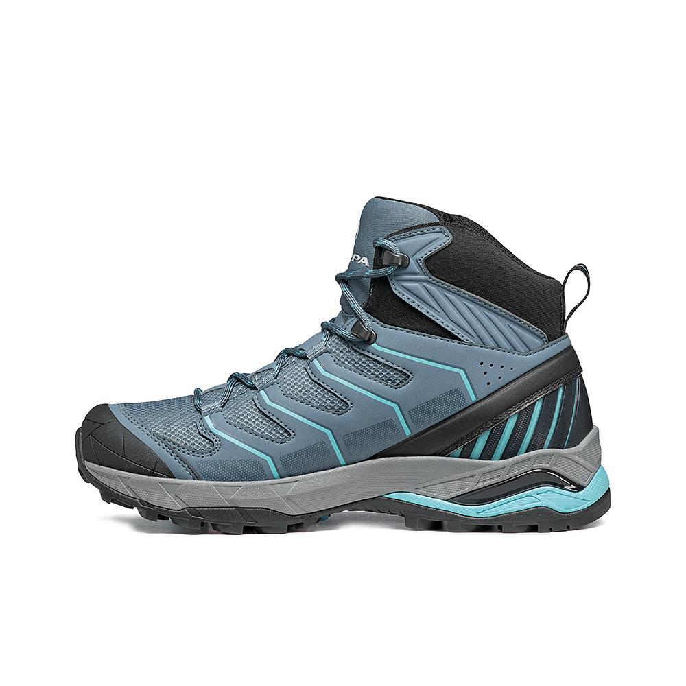 MAVERICK MID GTX  WOMAN  -   Hiking veloce su terreni misti, Impermeabile e leggera   -  Storm Gray-Aqua