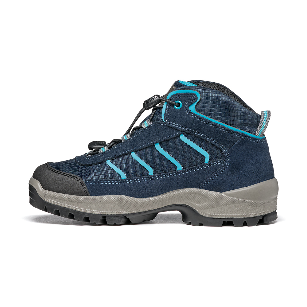 MISTRAL KID GTX   -   Trekking on trails and forests, waterproof   -   Navy-Turquoise