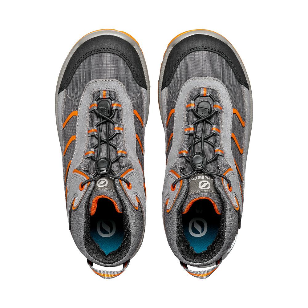 MISTRAL KID GTX   -   Camminate sentieri sterrati e nei boschi, Impermeabile   -   Gray-Orange