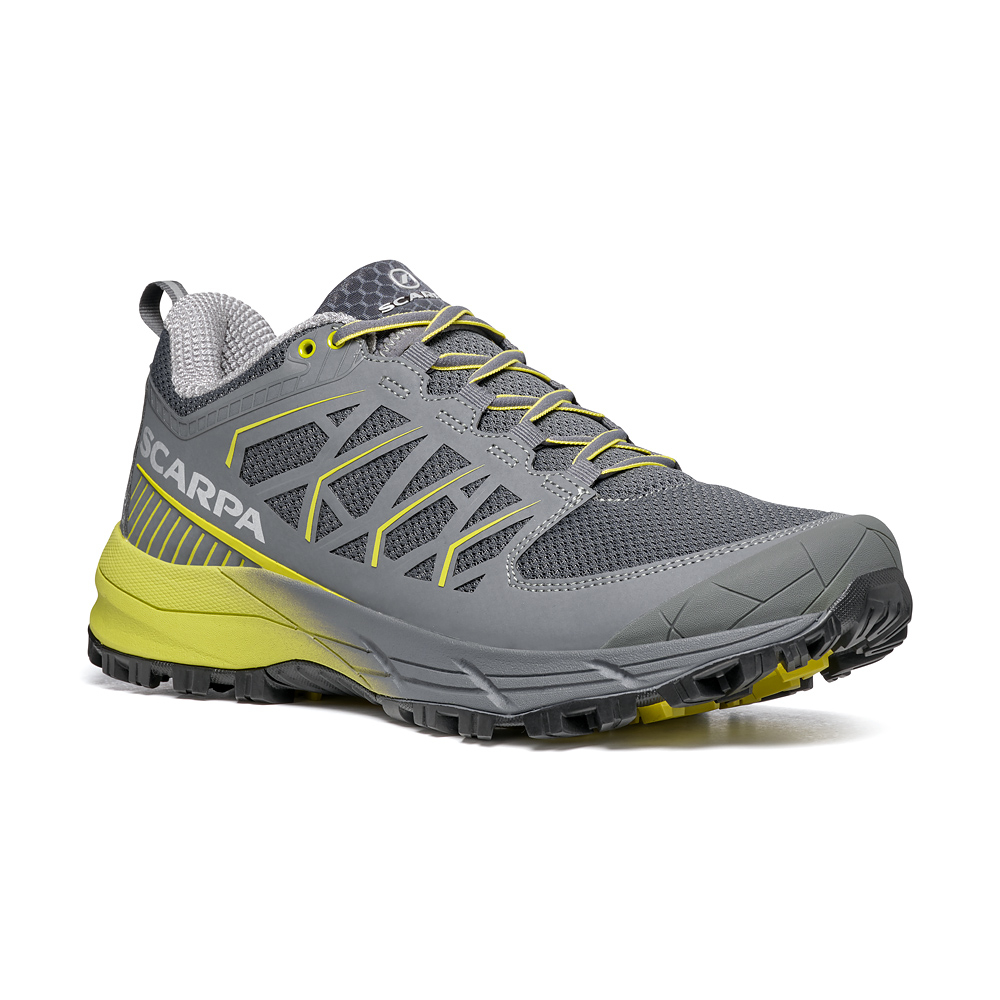 PROTON XT  -   Trail Running for long distances   -  Gray- Green Leal