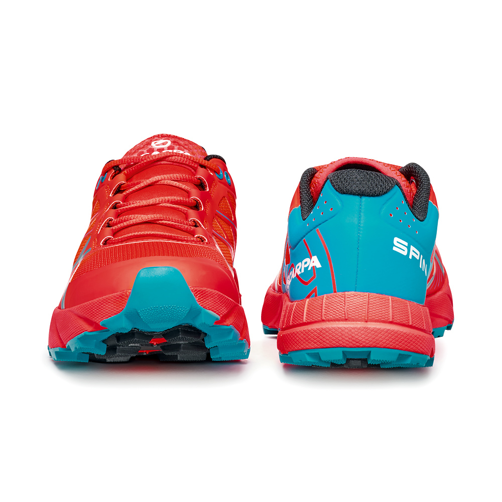 SPIN  WMN   -   Trail running, leggera e grip notevole   -   Bright Red-Sea