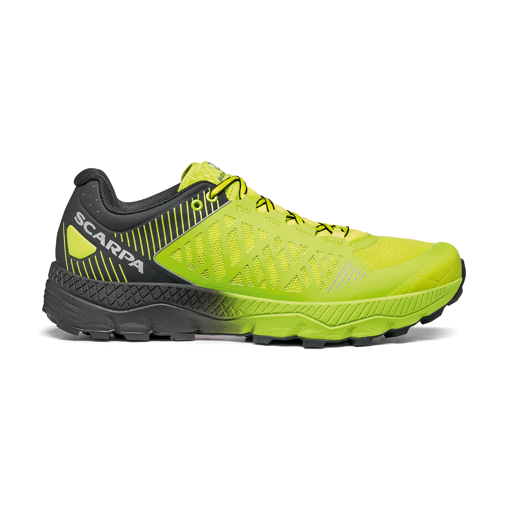 SPIN ULTRA     -   Trail Running per lunghe distanze   -   Acid Lime-Black