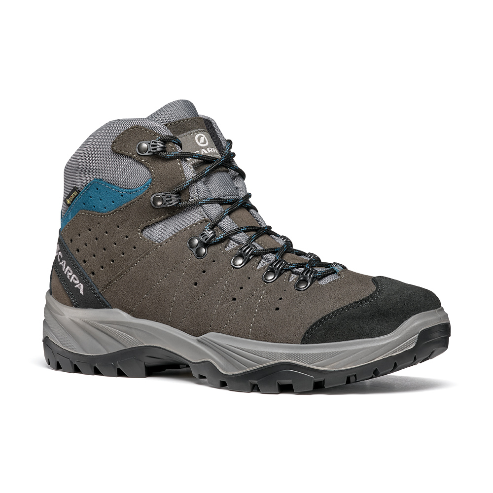 MISTRAL GTX   -   For hiking on paths with lightweight backpacks   -   Smoke-Lake Blue