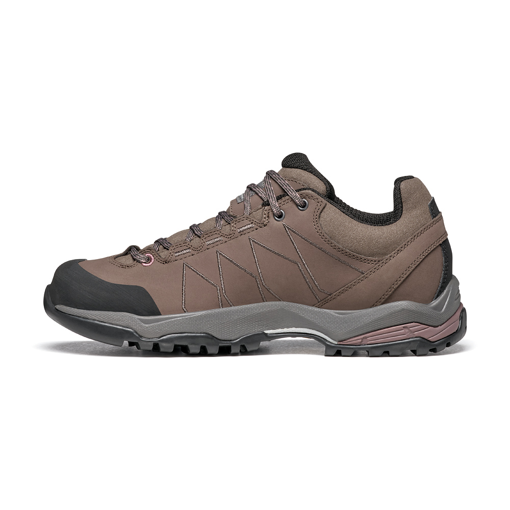 MORAINE PLUS GTX WMN   -   Protective for hiking on mixed terrains, waterproof   -   Charcoal-Dark Plum