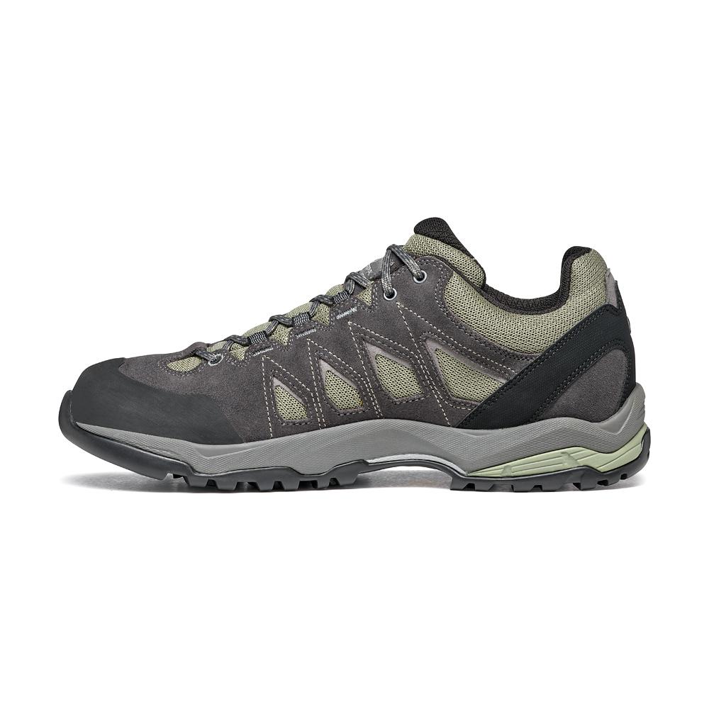 MORAINE GTX   -   Hiking lunghe camminate, uso cittadino, Impermeabile   -   Lichen Green-Storm Gray-Gray