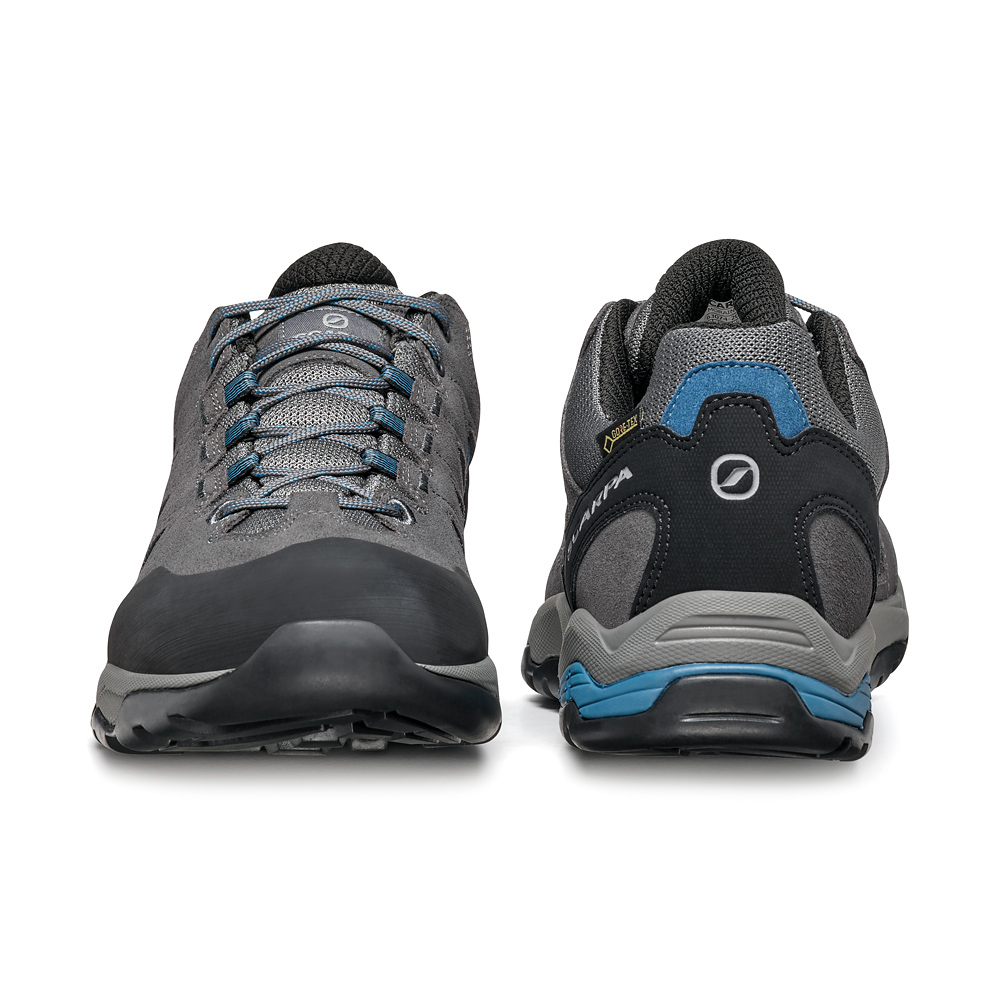 MORAINE GTX   -   Protective for hiking on mixed terrains, waterproof   -   Gray-Storm Gray-Lake Blue