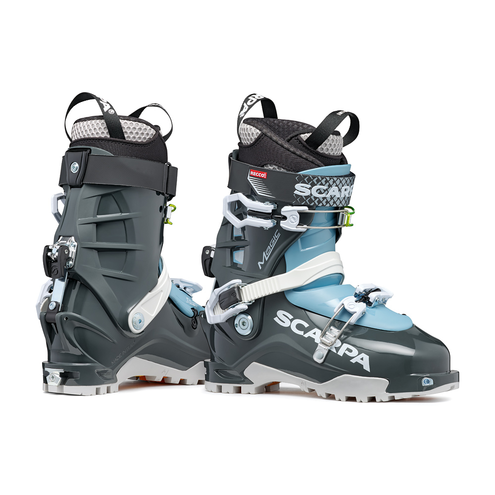 MAGIC   -   The right boot for women   -   Anthracite-Polar Blue