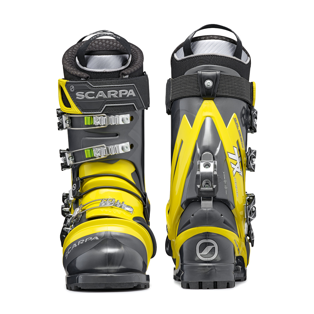 TX COMP   -   Strong boot for free-heel skiing   -   Anthracite-Acid Green