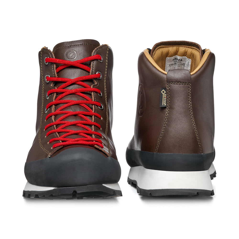 ZERO8 GTX   -    Per gli sportivi metropolitani     -   Brown (Leather)