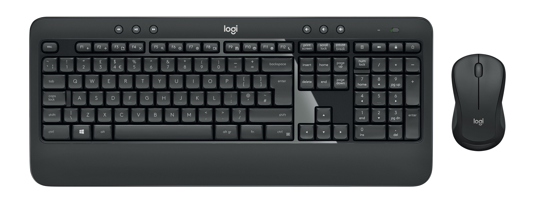 Logitech MK540 Advanced tastiera RF Wireless QWERTY Italiano Nero, Bianco