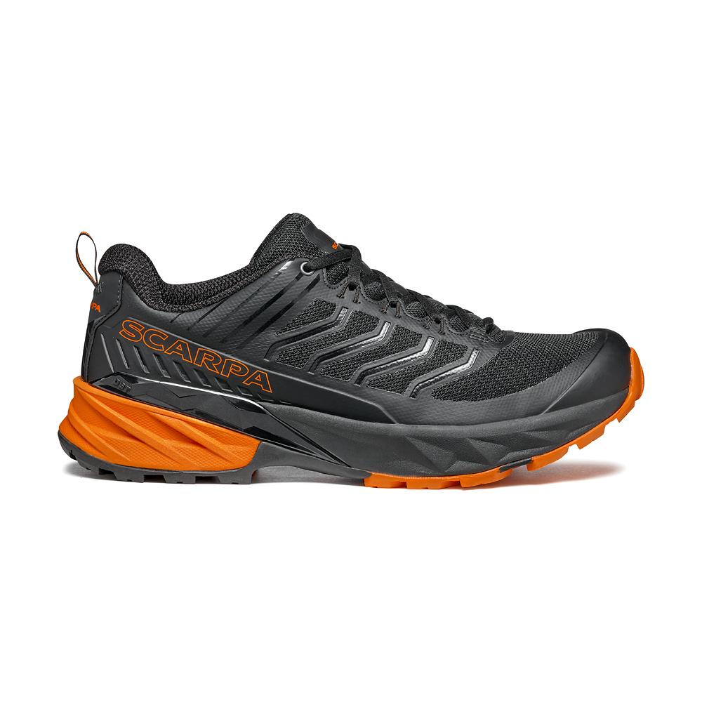 RUSH  -  Fast hiking su multi terrain, medie e lunghe distanze  -  Black-Orange