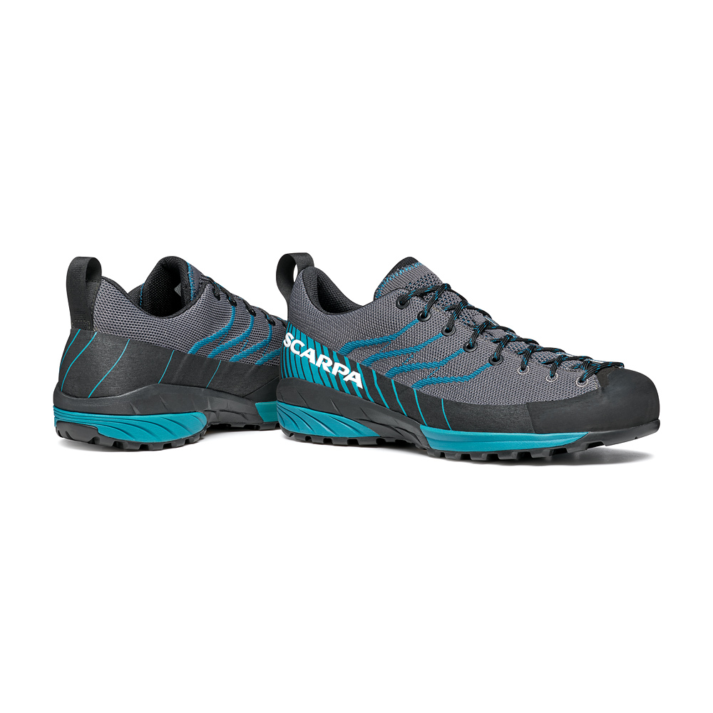MESCALITO KN   -   Approach and Hiking in the summer   -   Gray-Lake Blue