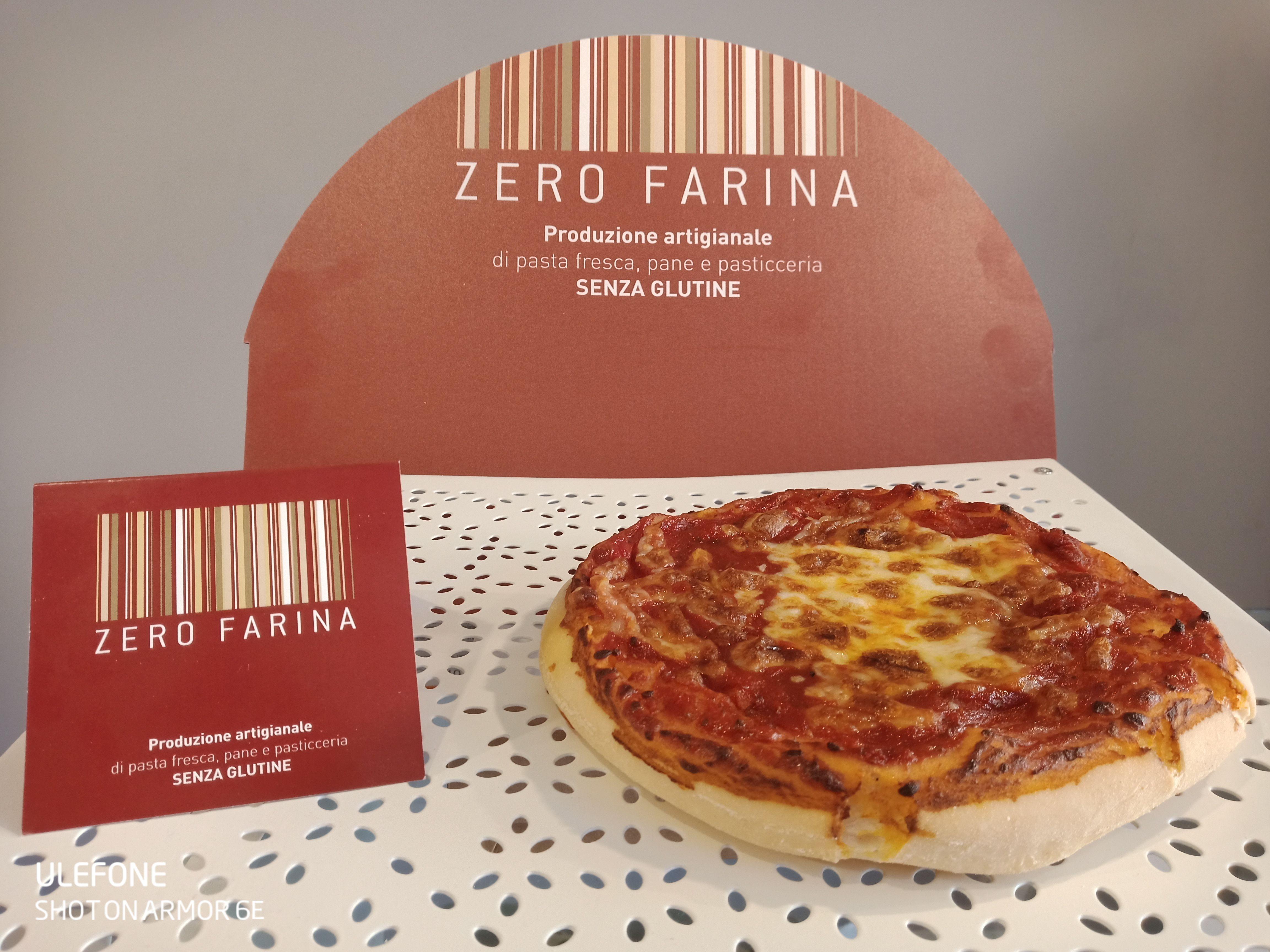 Pizza Senza Glutine e Lattosio - 250 gr (1 pz)