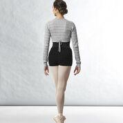 Bloch pantaloncinoSonoma con risvolto     in cotone da riscaldamento