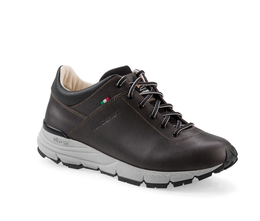 206 STROLL LTH - Lifestyle Shoes - Dark Brown