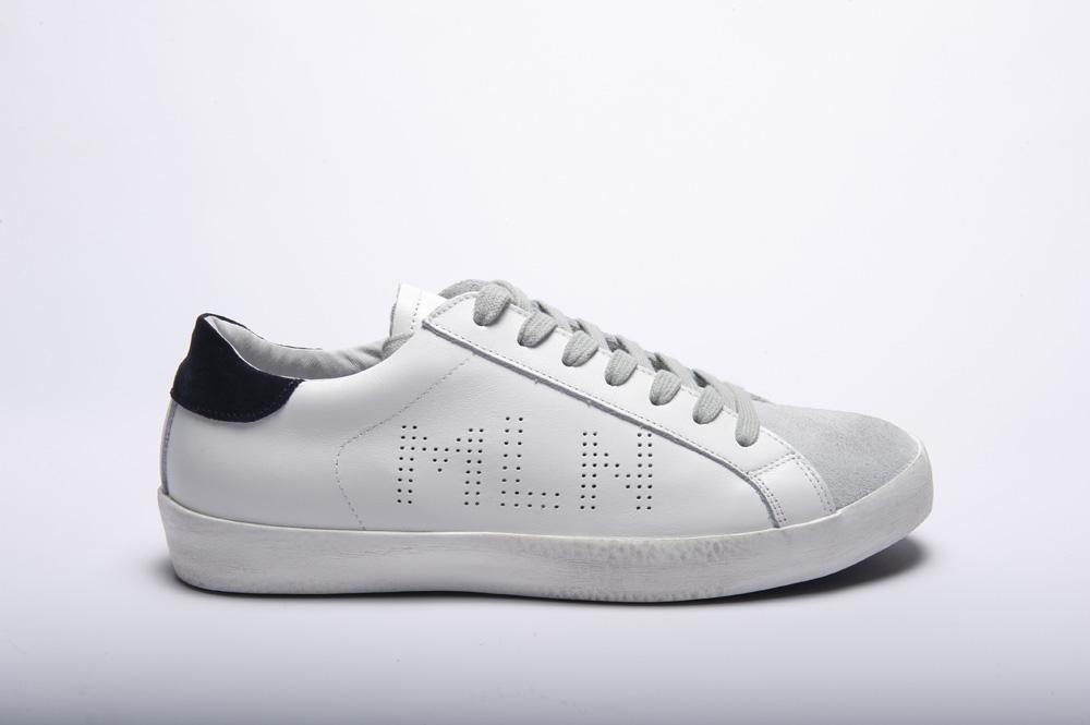 Méliné sneakers bianca uomo kum011
