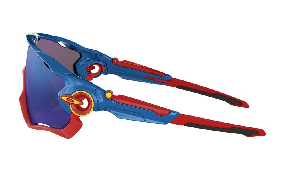 Oakley - Occhiale da Sole Uomo, Jawbreaker™ Snapback Collection, Sapphire Blue/Prizm jade  OO9290-4231  C31