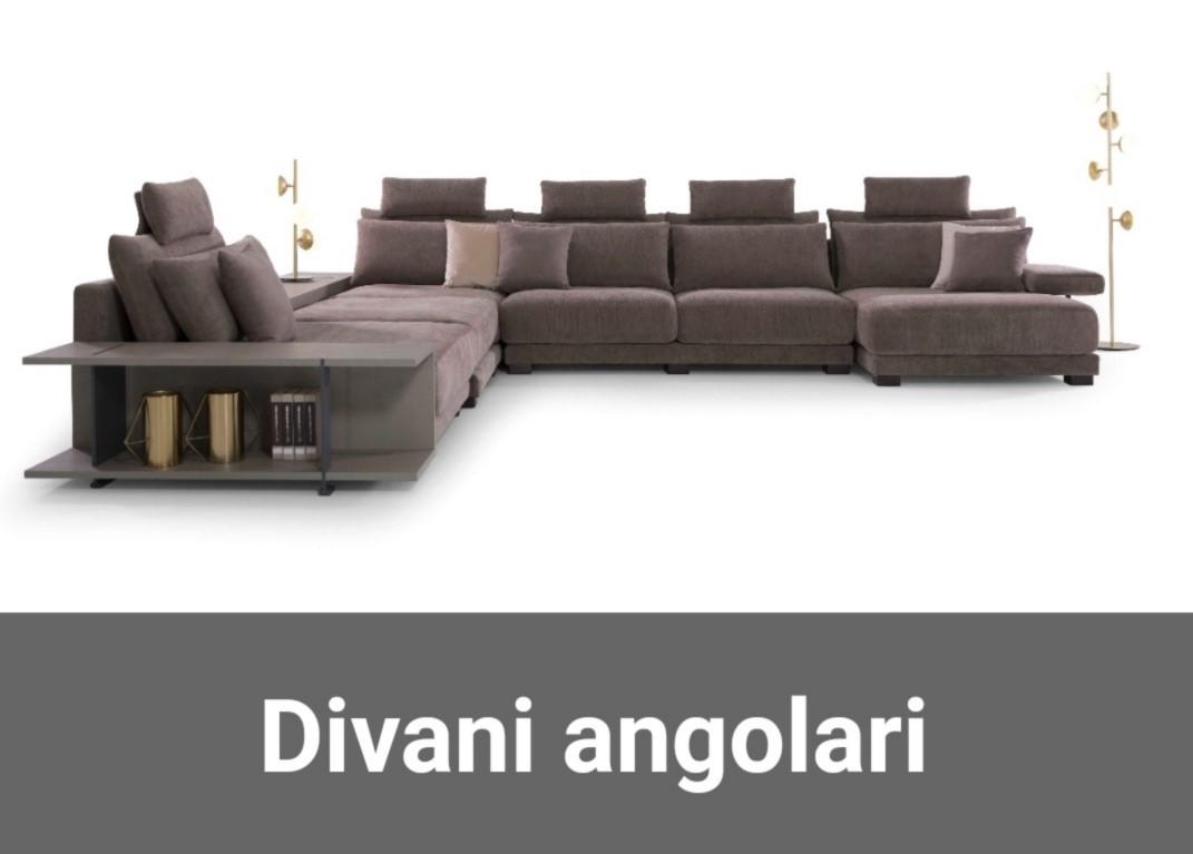 Modelli Di Divani Angolari.Divani Store Outlet Divani Italiani In Offerta E Pronta Consegna