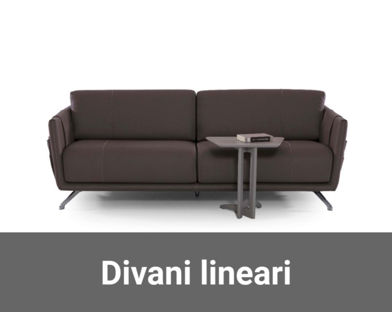 Divano 4 Posti Lineare.Divani Store Outlet Divani Italiani In Offerta E Pronta Consegna