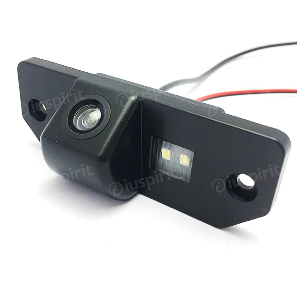 Telecamera retromarcia specifica per Ford Focus Mondeo C-Max S-Max Fiesta retrocamera specifica luce targa