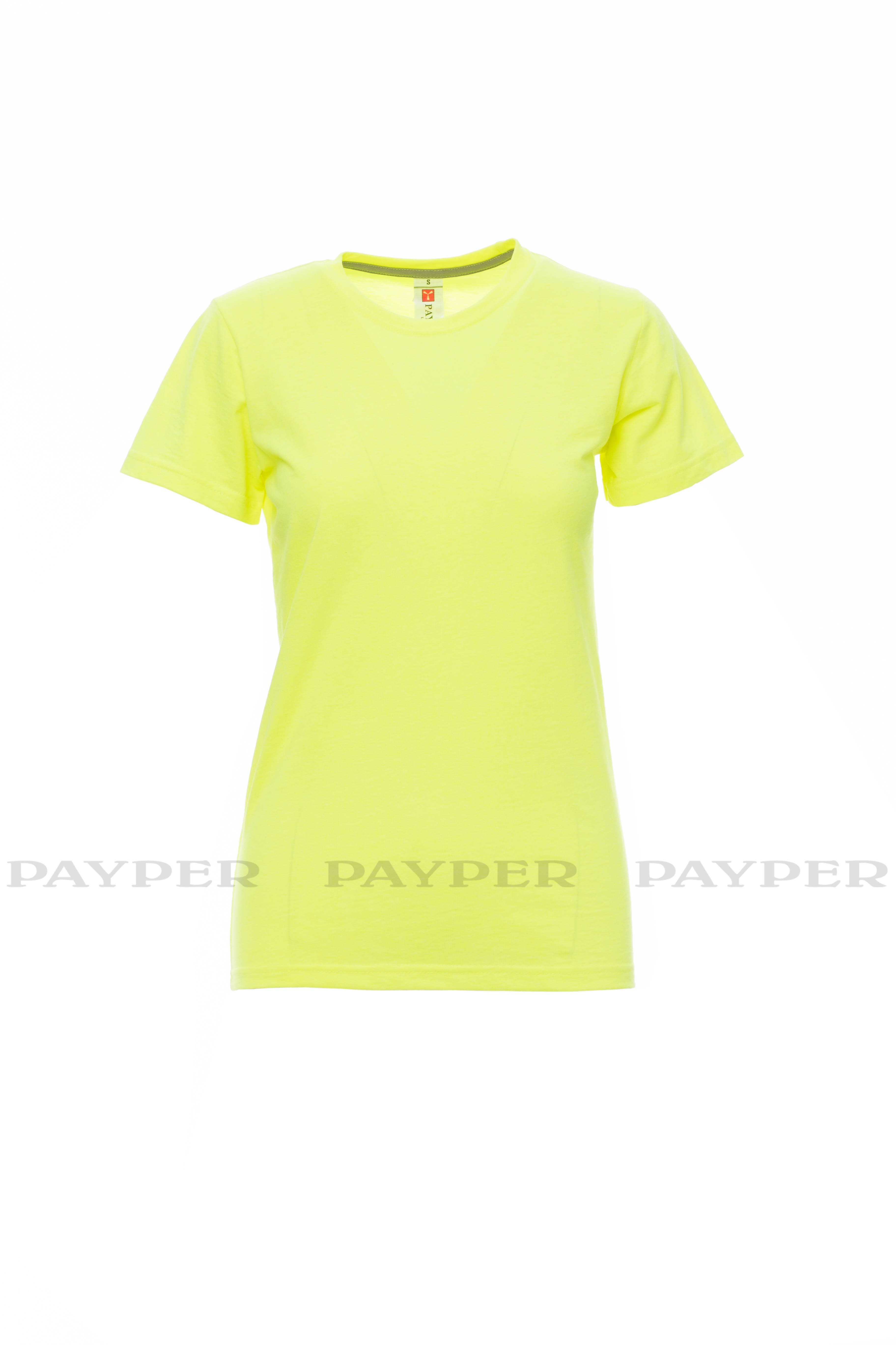 T-SHIRT M/CORTA ART.SUNSET LADY FLUO/MIMETICO