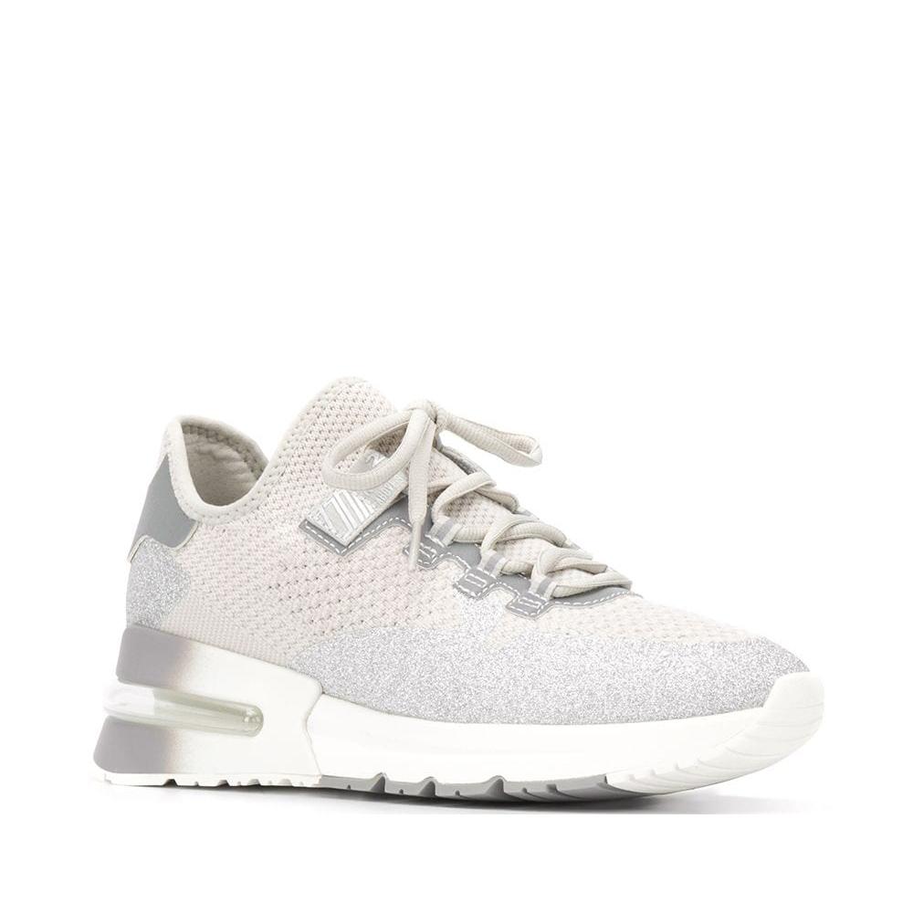 Sneakers Krush glitter bianco - ASH