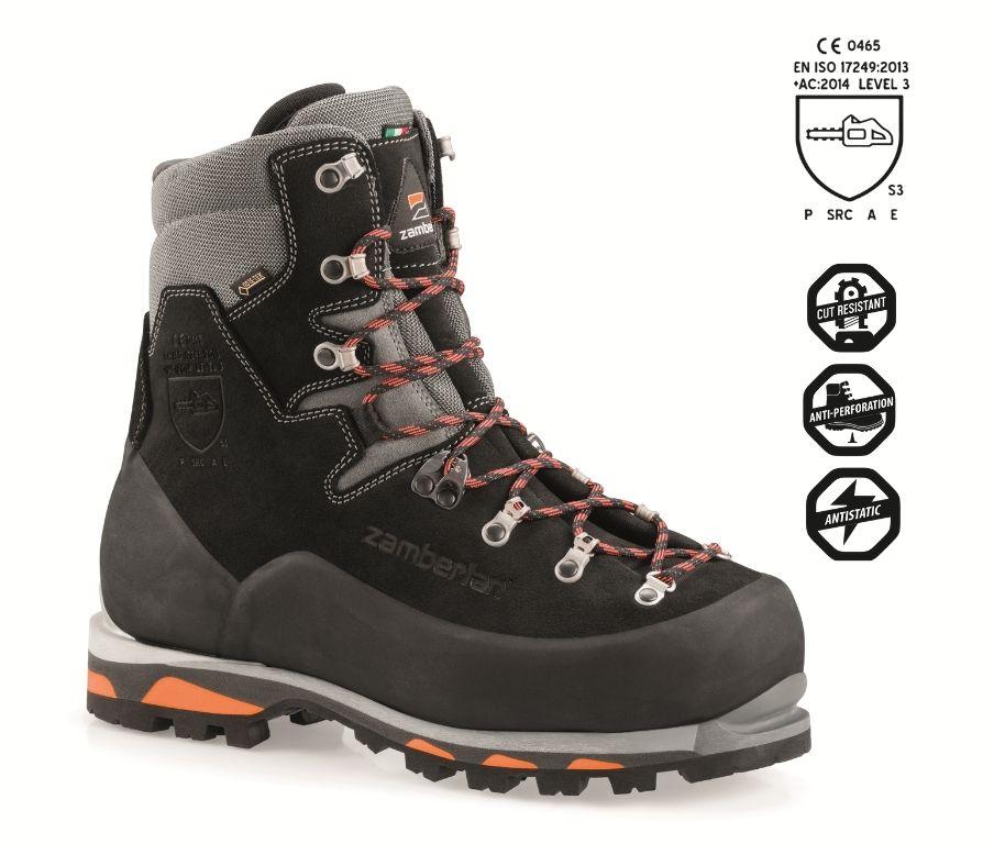 5011 LOGGER PRO GTX RR S3 - Work boots - Black