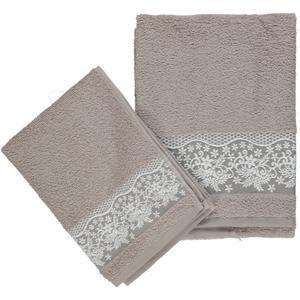 Asciugamani con merletto