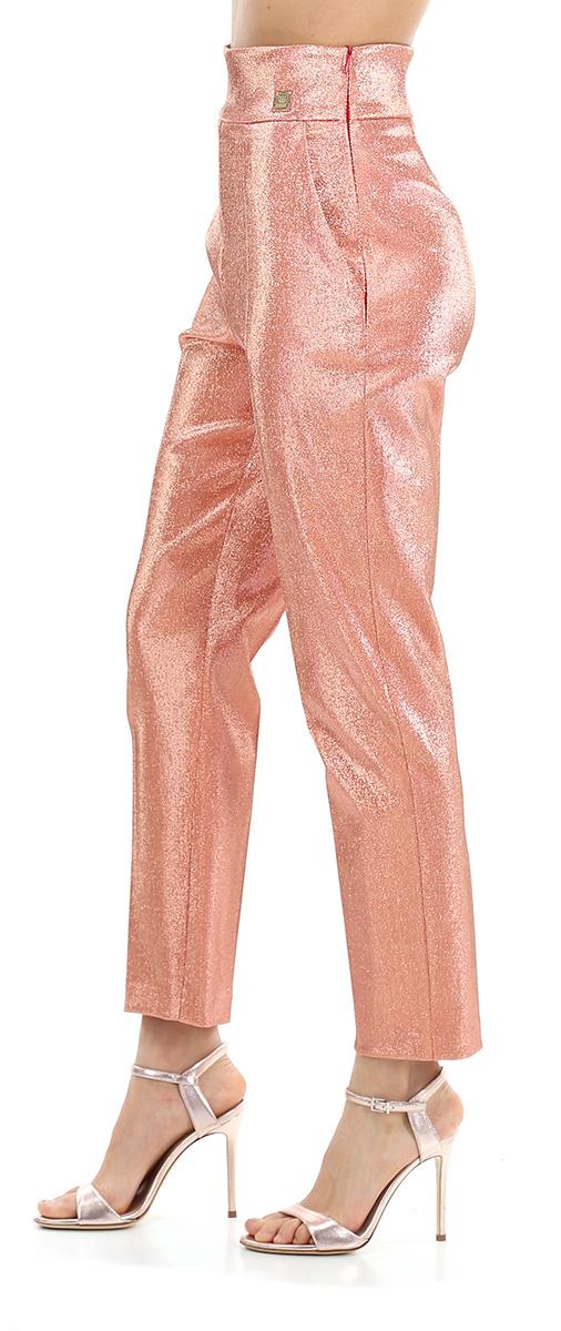 Pantalone Elegante Elisabetta Franchi PA32702E2 153ROSA ANTICO  -19