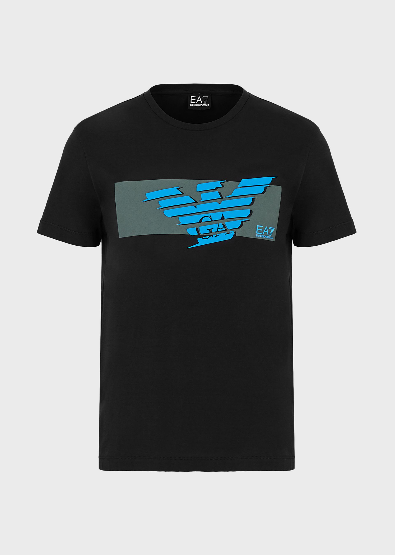 T-shirt uomo ARMANI EA7 con stampa logo