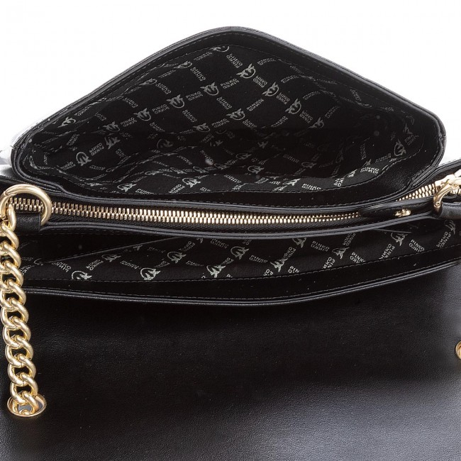Borsa Big Love Simply pelle nera PINKO