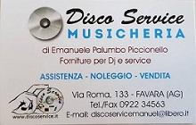 DISCO SERVICE DI PALUMBO PICCIONELLO EMANUELE