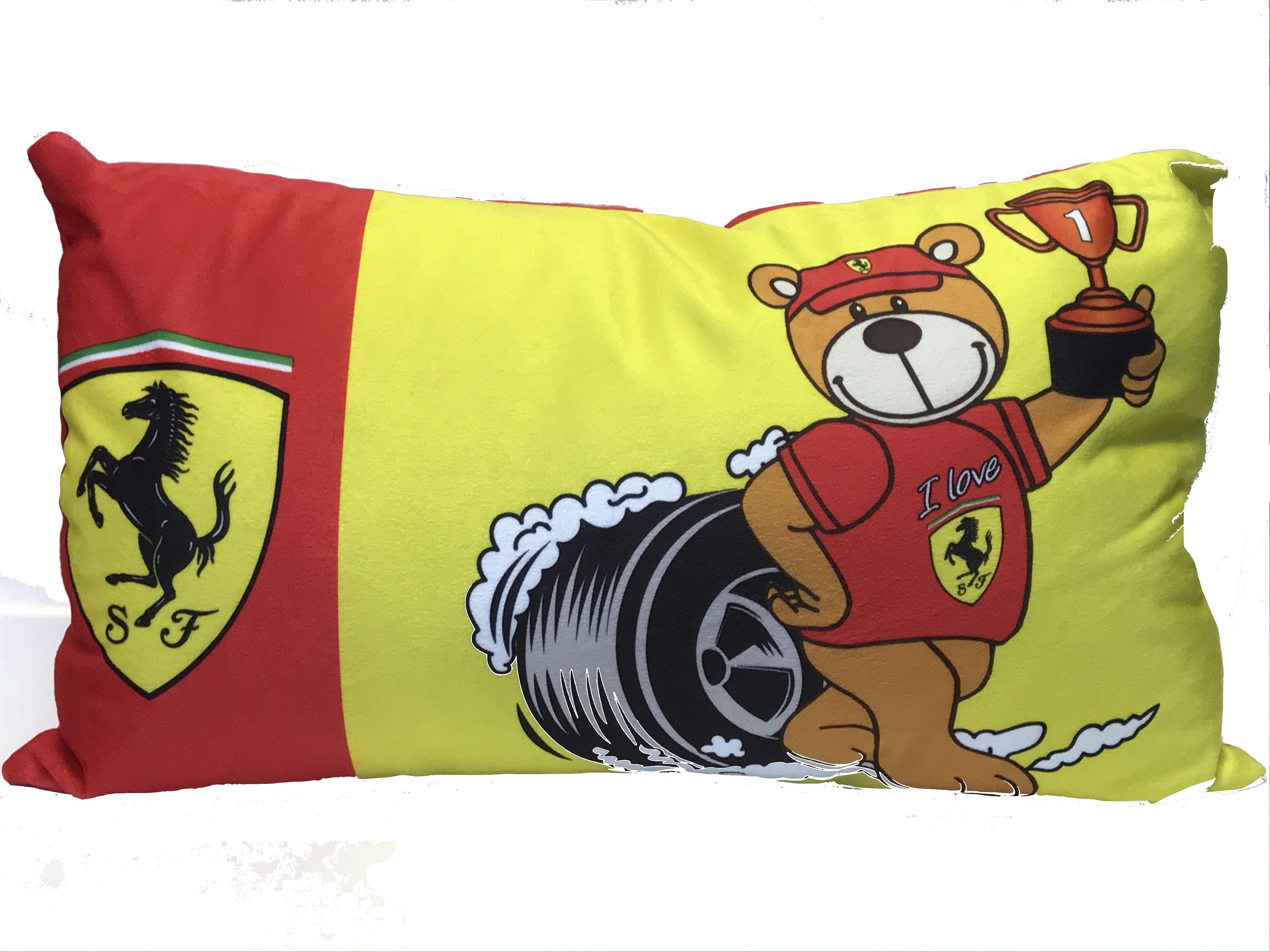 Scuderia Ferrari Teddy Fantasy Cushion