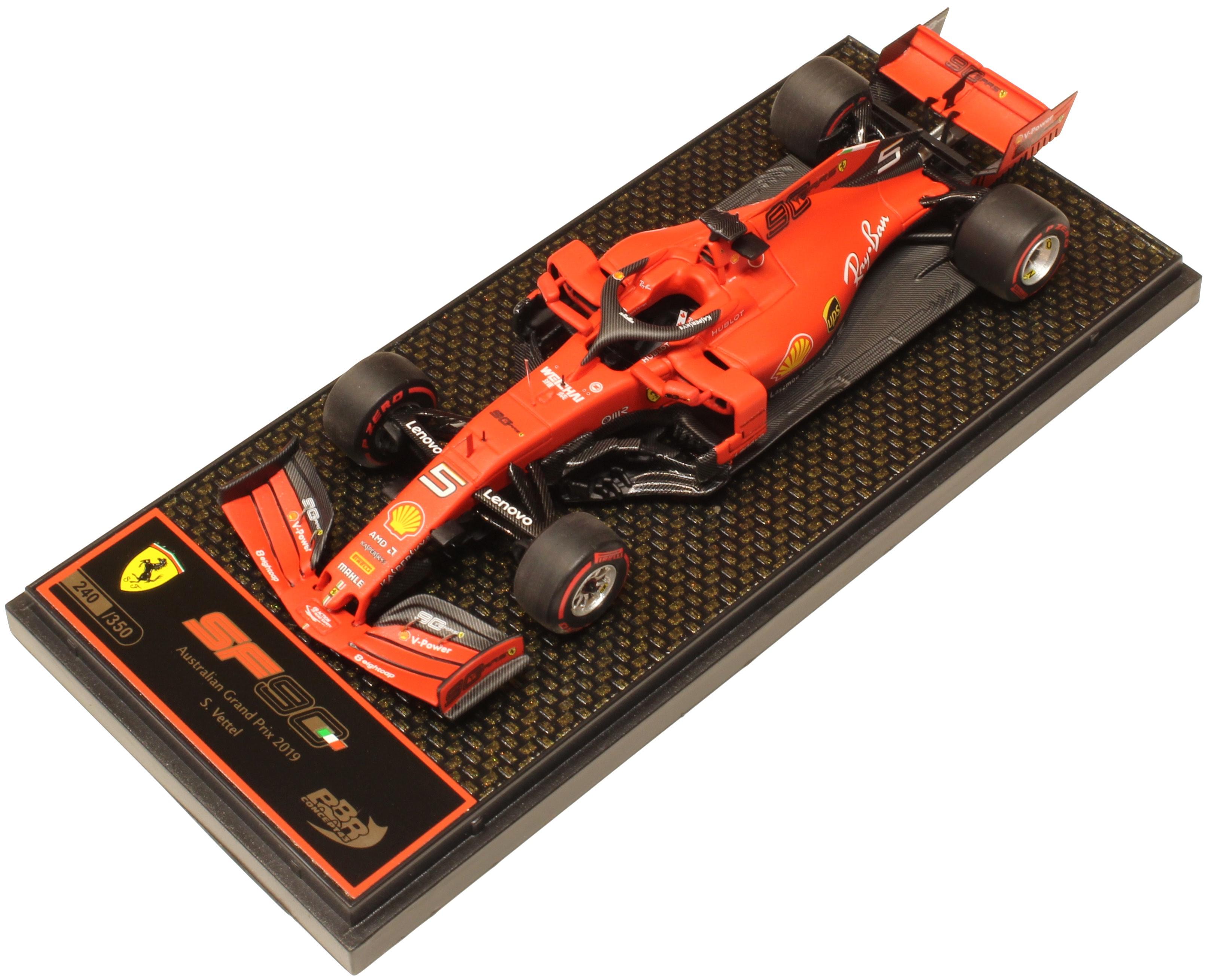 Ferrari SF90 GP Australia 2019 S. Vettel Ltd 350 Pcs