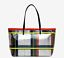 Shopper tartan silver - GUM DESIGN