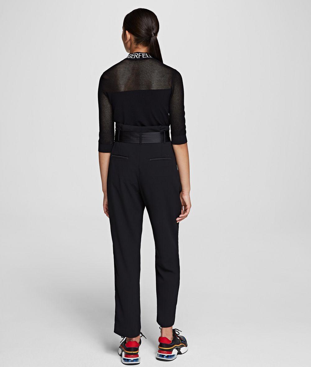 Pantaloni dal taglio sartoriale Karl Lagerfeld.