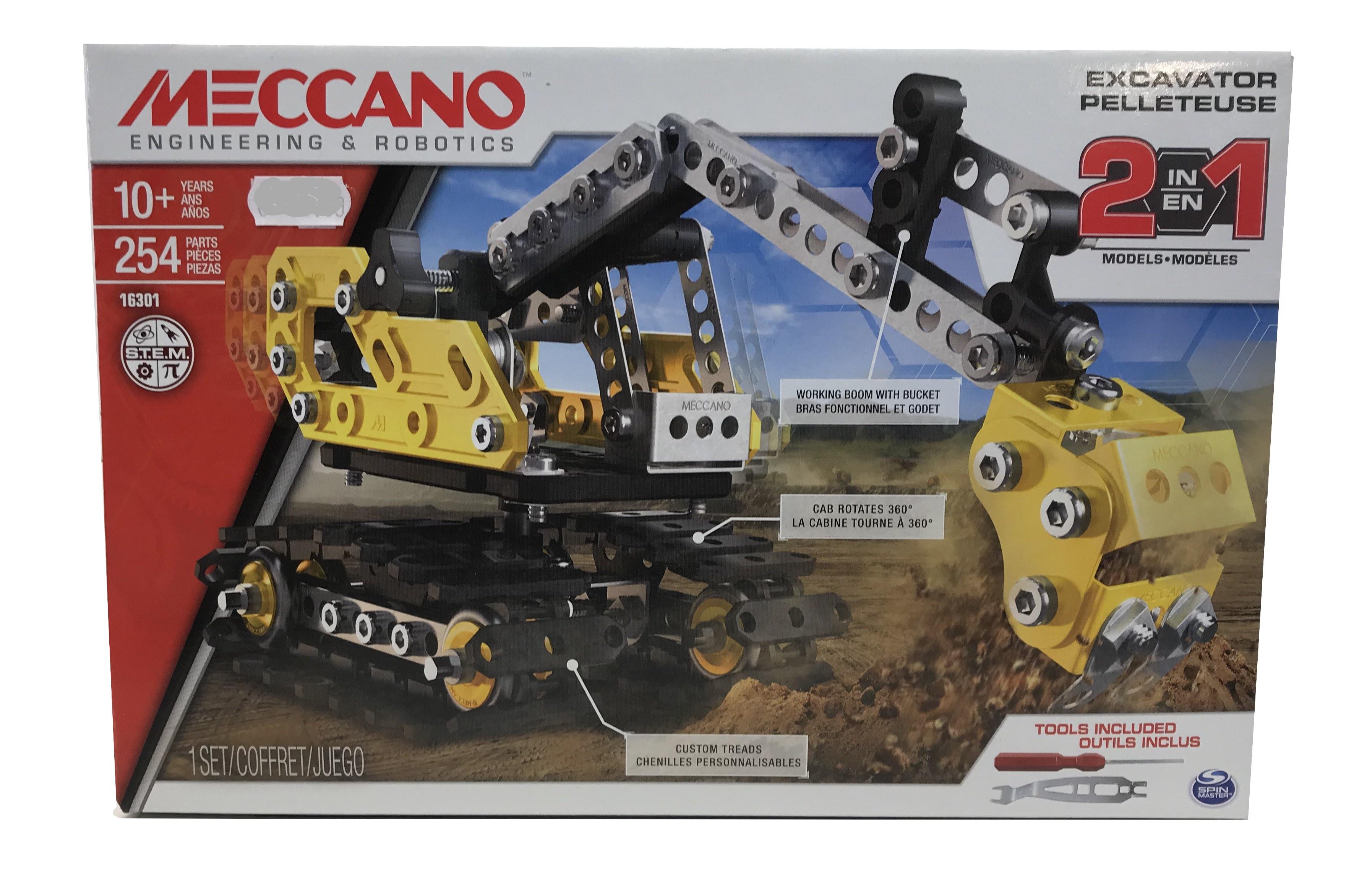 Meccano Excavator 2 in 1
