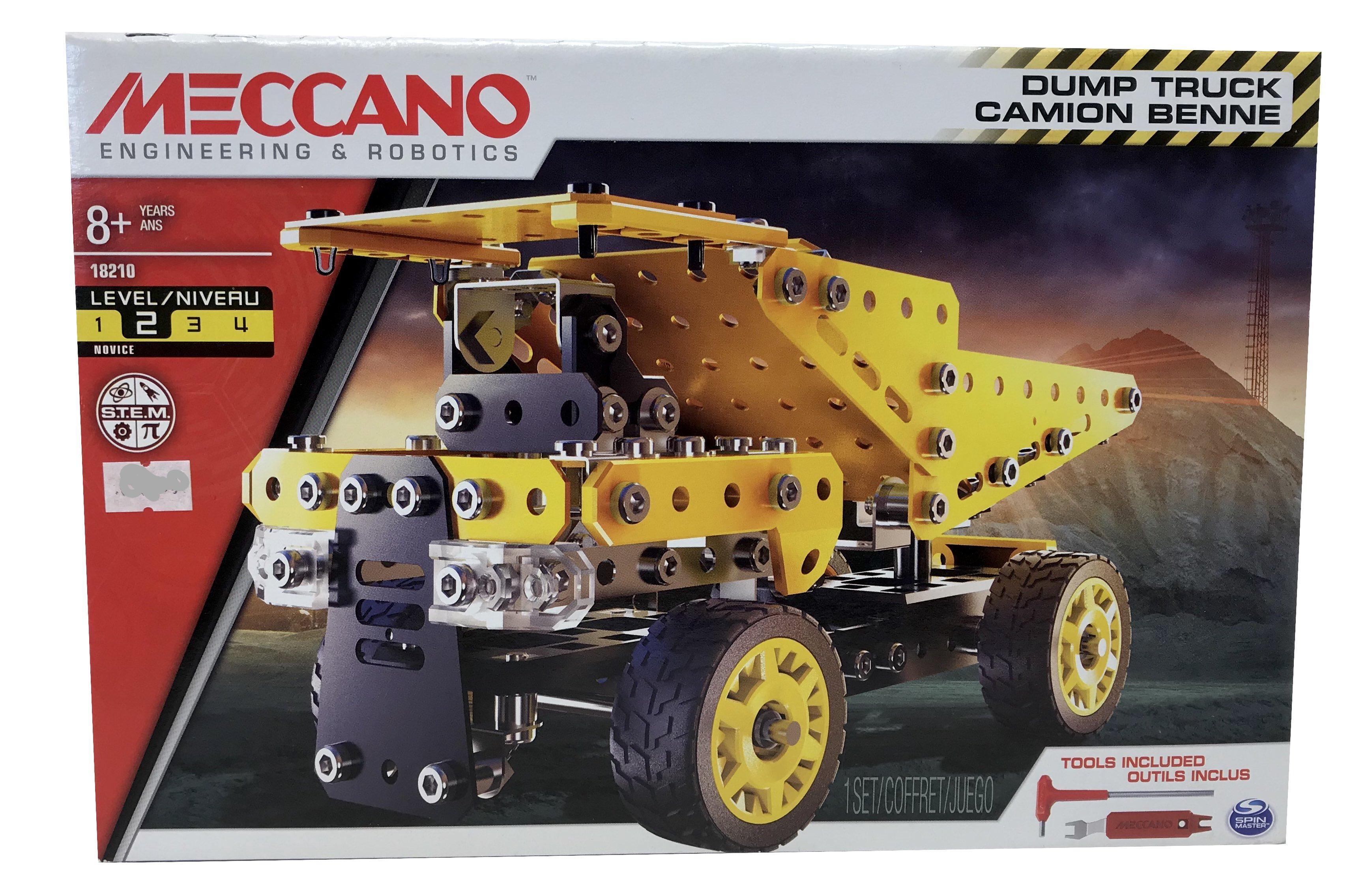 Meccano Dump Truck Camion Benne