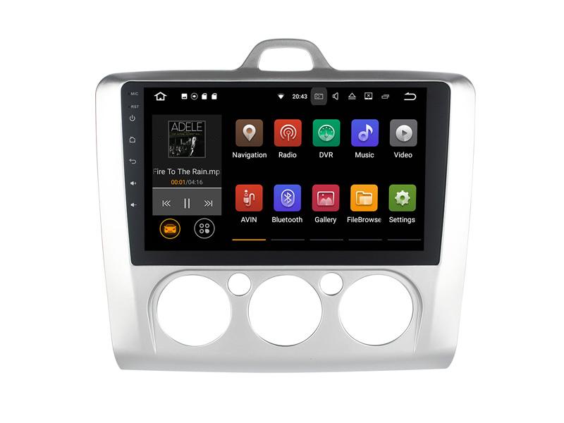 ANDROID autoradio navigatore per Ford Focus 2006 2007 2008 2009 2010 2011 GPS WI-FI Bluetooth MirrorLink
