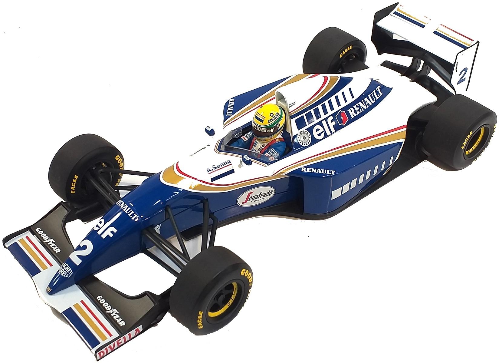 Williams Renault FW16 Ayrton Senna 1994 1/18