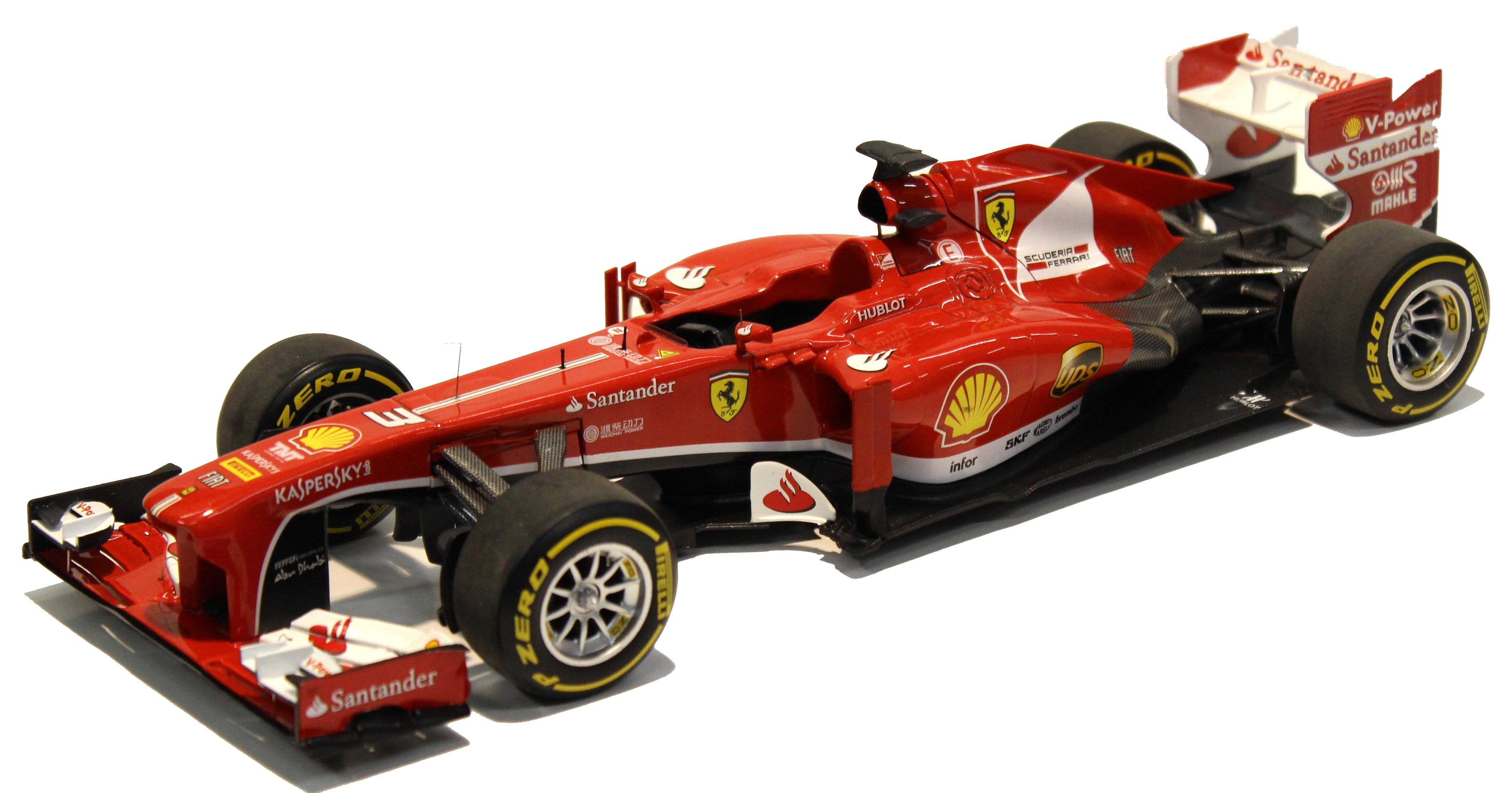 Ferrari F1 F138 2013 Fernando Alonso Chinese Gp Elite 1/18