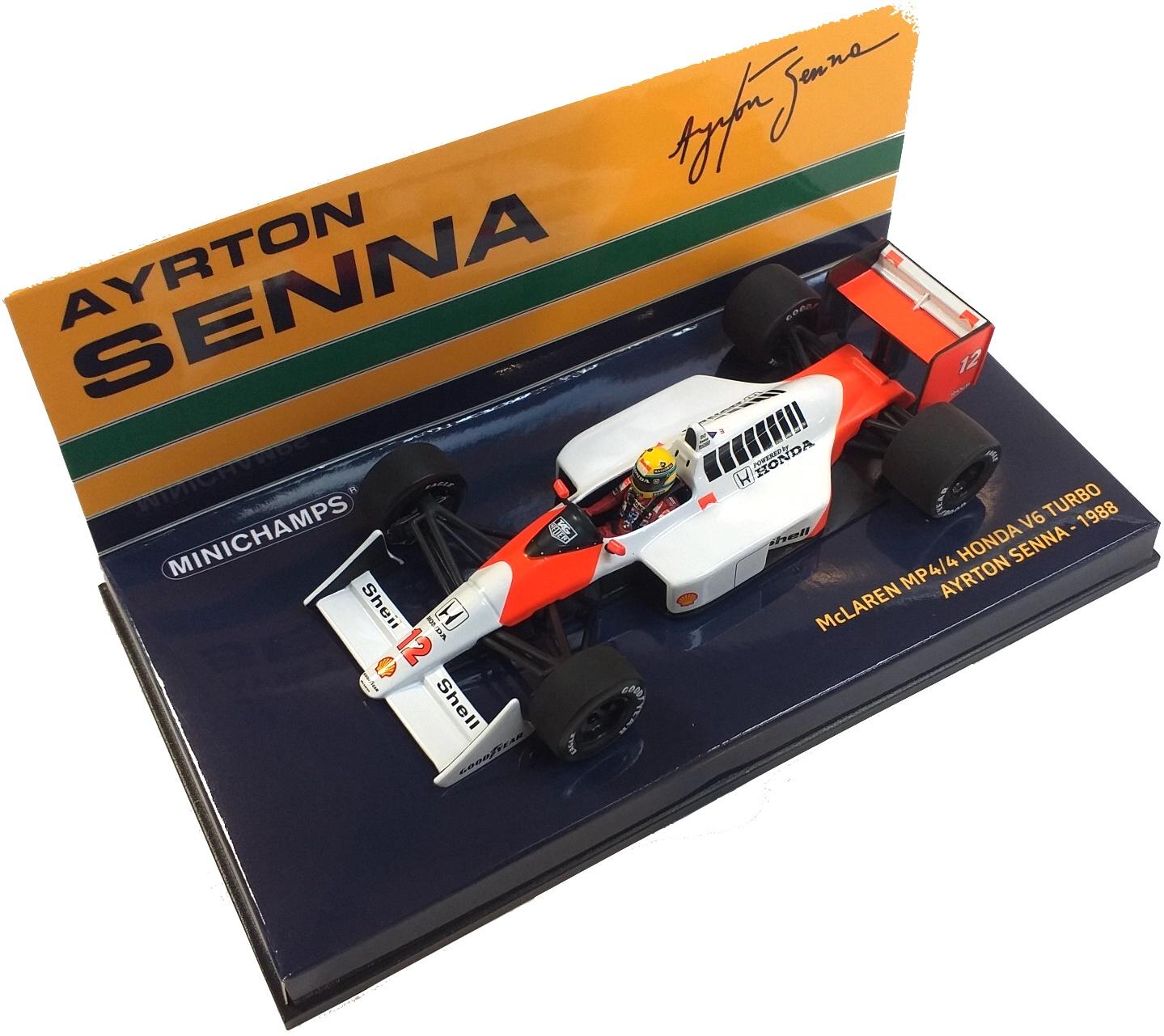 McLaren Honda MP4/4 V6 Turbo Ayrton Senna 1988 1/43