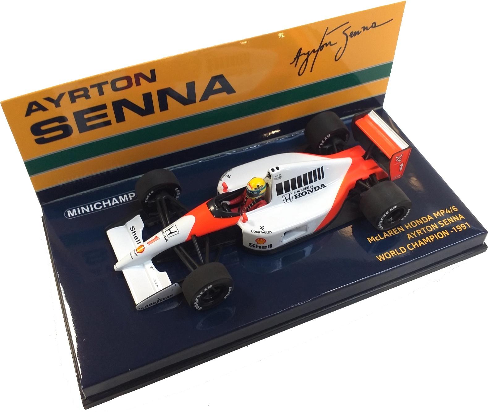 McLaren Honda MP4/6 Ayrton Senna V12 World Champion 1991 1/43