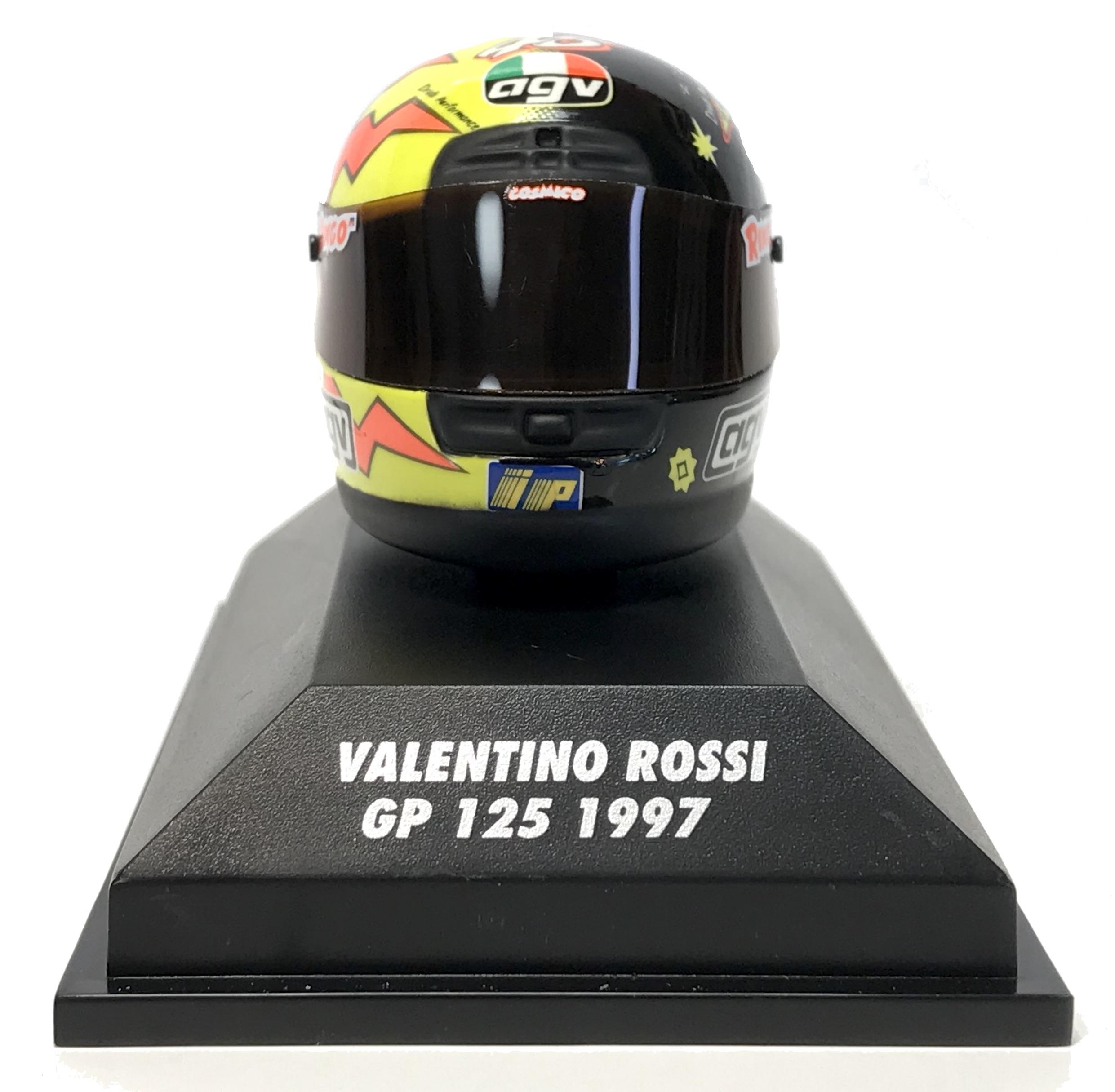 Valentino Rossi GP 125 1997 Helmet 1/8