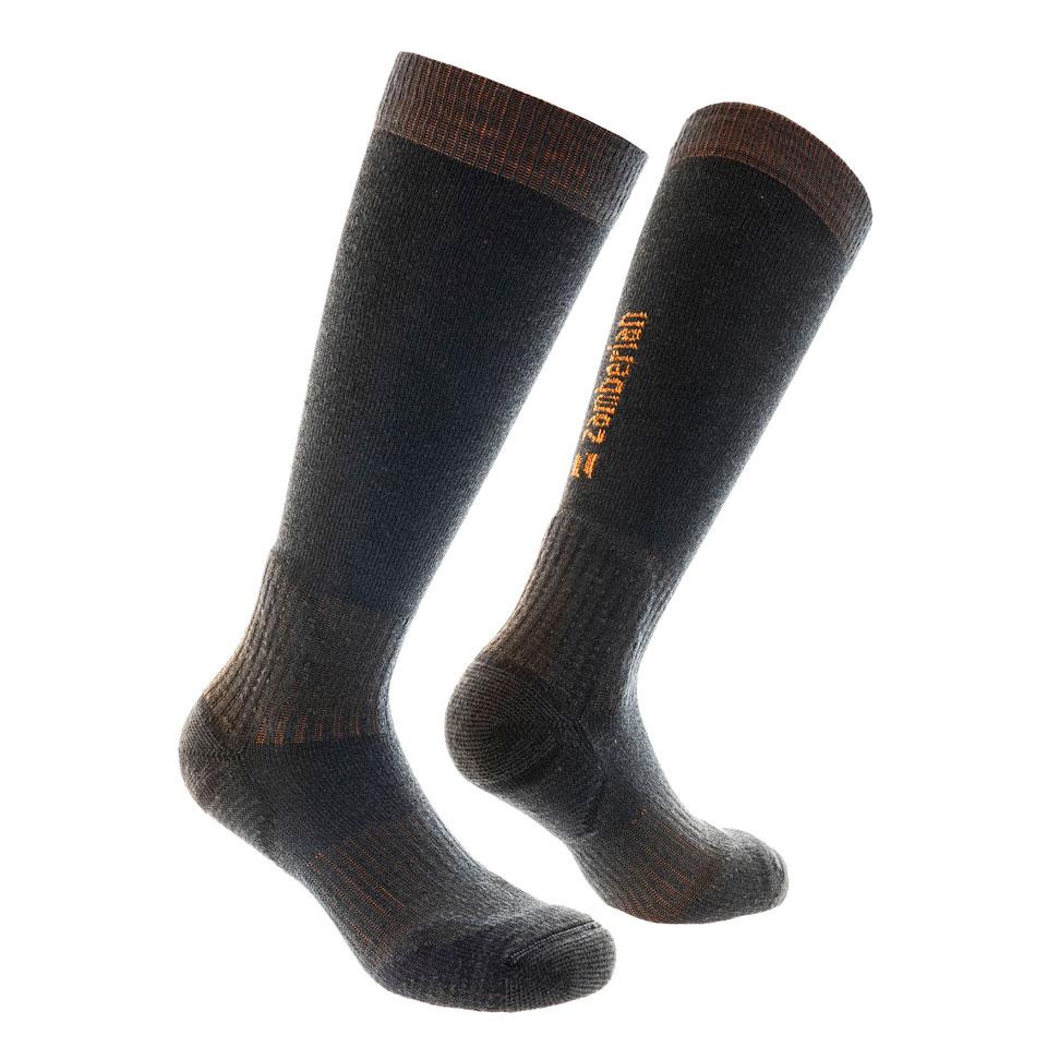 ZAMBERLAN® ALPINE PEAK CLIMBING SOCKS   -   High Cut   -   Graphite